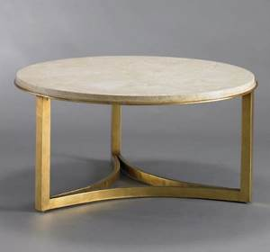 coffee table large round stone coffee table stone coffee With round marble and gold coffee table