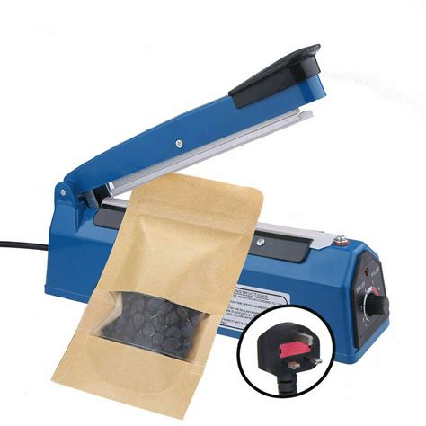 impulse heat sealer plastic bag film sealing machine metal