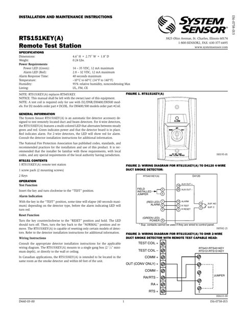 alarm aux out d2 duct detector in system sensor smoke brilliant wiring diagram electrical