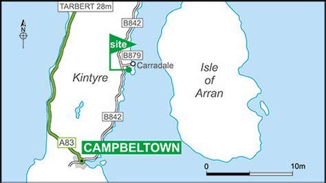 Carradale Bay Club Site  The Caravan Club