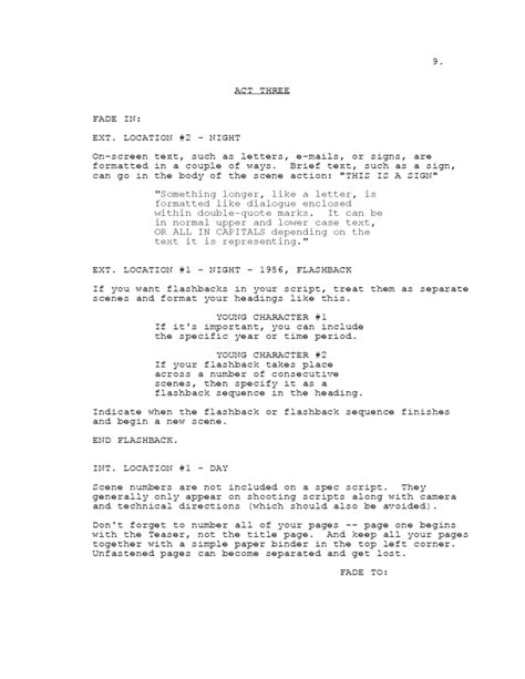 Tv Script Template For Pages by Screenplay Template Secretara De Alumnos Creating A