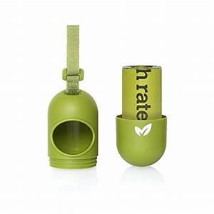 Earth ratedr green dog waste bag dispenser for leash for Earth rated dog bags