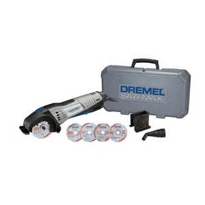 Dremel Tile Cutting Kit by Dremel Saw Max 6 0 Amp Corded Tool Kit With 6 Attachments