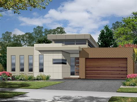 modern contemporary floor l modern contemporary single story house plans home deco plans
