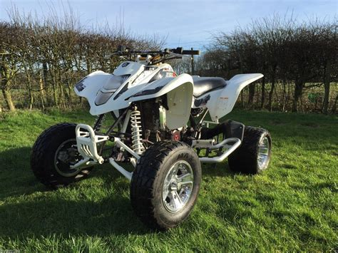 suzuki ltz  road legal quad  yamaha raptor yfz