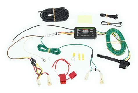 Rav4 Trailer Wiring Harnes by Curt Custom Fit Vehicle Wiring For Toyota Rav4 0 C56166