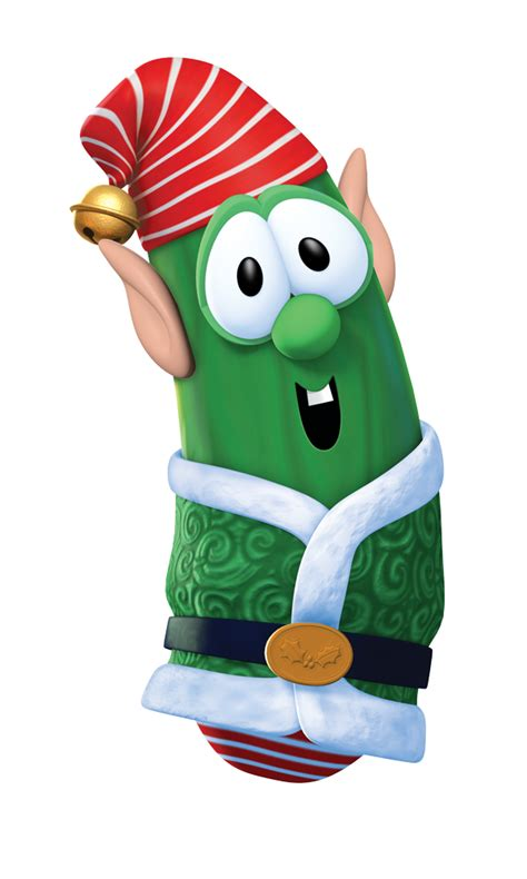 the story of three veggie tales merry larry and the true