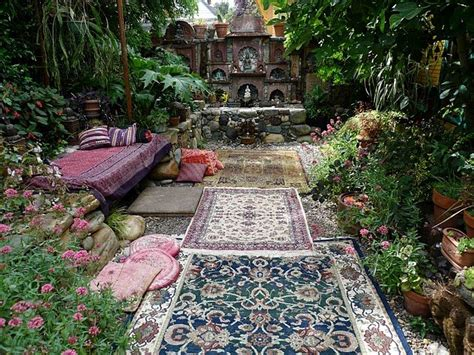 dishfunctional designs dreamy bohemian garden spaces