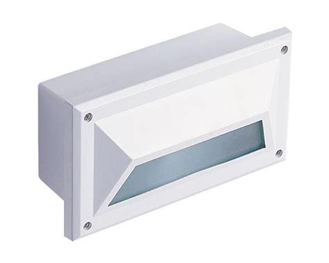 luxor eyelid recessed brick light white lighting