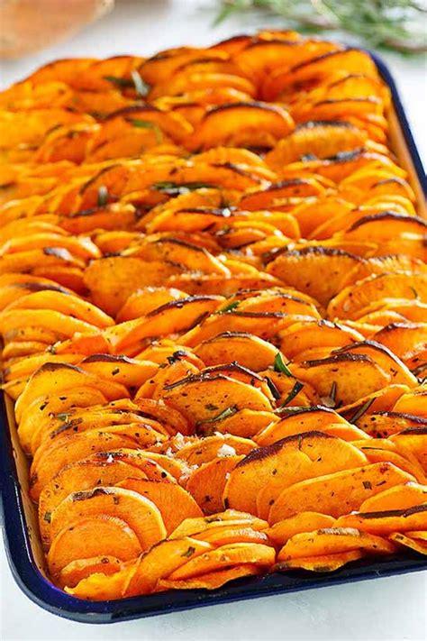 crispy baked sweet potatoes recipe  crafts  recipes