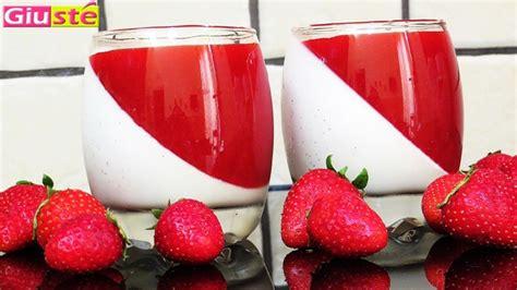 panna cotta et coulis de fraises giust 233 cuisine