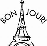 Tower Eiffel Coloring Paris Pages France Drawing Printable Colouring Getcolorings Getdrawings sketch template