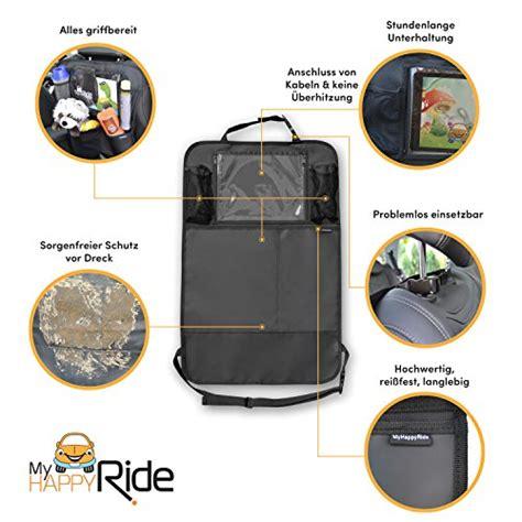tablette voiture siege auto organiseur de siège de voiture imperméable avec
