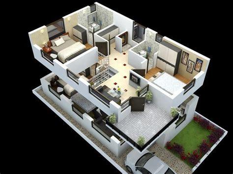 duplex home design plans  homeminimalis duplex house