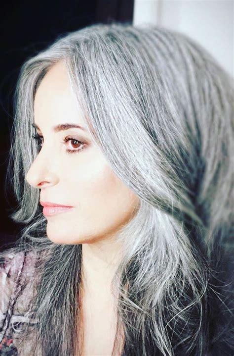 The 25 Best Gray Hair Transition Ideas On Pinterest