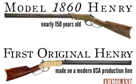 Henry Repeating Arms Donates Model 1860 Henry & First ...