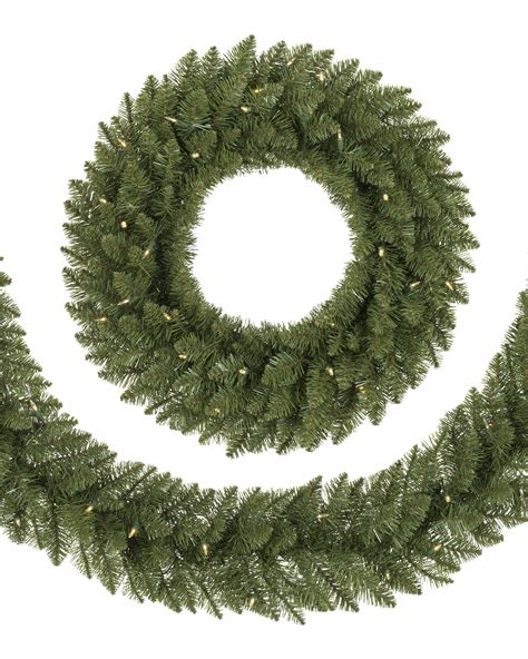 no 2 pencil artificial wreath and garland treetopia