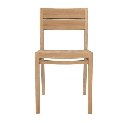 chaise en chene ex1 w chaise ethnicraft en bois de chêne ou de teck