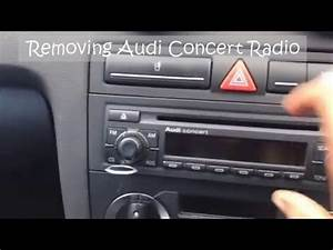 Radio Audi Concert : removing audi concert cd stereo radio youtube ~ Kayakingforconservation.com Haus und Dekorationen