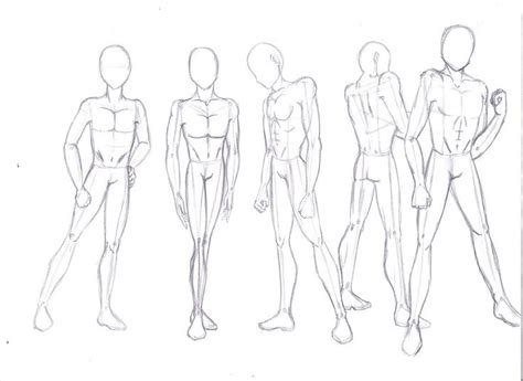 Anime Body References