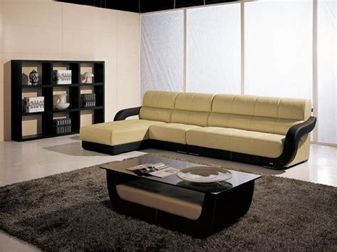 two tone leather sectional sofa eler two toned leather sectional modern sectional