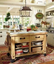 pottery barn kitchen islands enthralling pottery barn rolling kitchen island from unfinished wood with rustic rubbed