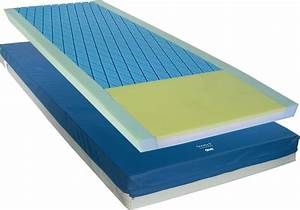 gravity 8 pressure redistribution mattress With air mattress for pressure ulcer prevention
