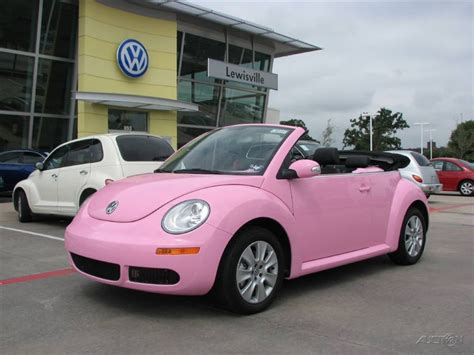 pink convertible cars pink cool beauty of cars quot new volswagen beetle
