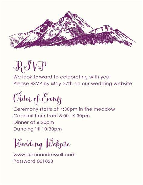 Customize These Wedding RSVP Wording Samples Beacon Lane