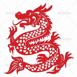 Papercut dragon graphicriver for Chinese paper cutting templates dragon