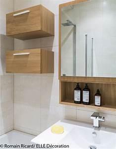 Petit Meuble Salle De Bain : ordinaire decoration salle de bain petite surface 3 petit meuble de salle de bains en bois ~ Teatrodelosmanantiales.com Idées de Décoration