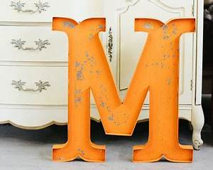 large metal letters etsy With large aluminum letters