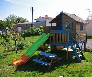 Maisonnette En Bois Sur Pilotis : construire cabane en bois sur pilotis designs de maisons ~ Dailycaller-alerts.com Idées de Décoration
