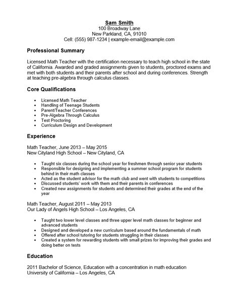 Math Resume Template by Microsoft Word Cv Template Rtf Rich Text Format Ms Html Autos Weblog