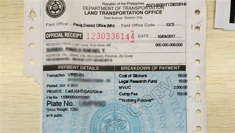 This Could Be The Cost Of Car Registration With The Lto