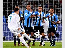 Com gol de Cristiano Ronaldo, Grêmio é derrotado pelo Real