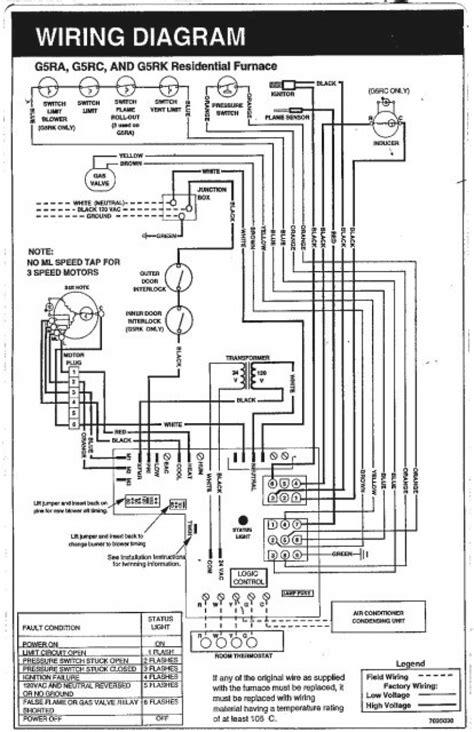 thermostat wiring diagram for rheem heat york heat