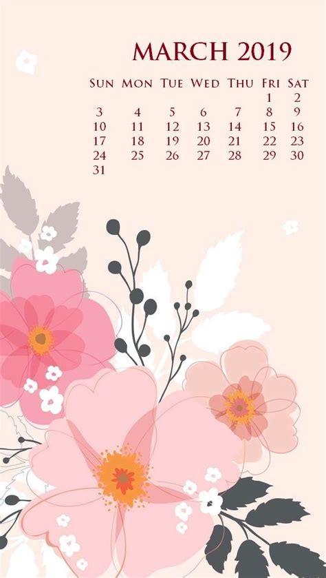 march  iphone screen saver calendar wallpaper