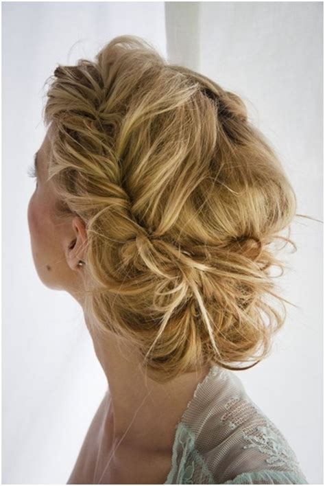 simple updo hairstyles for prom hairstyles medium hair