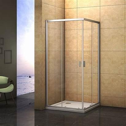 Shower Glass Walk Door Corner Entry Cubicle