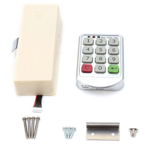 Cabinet Number by Intelligent Digital Electronic Password Keypad Number