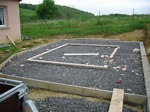 Faire Une Terrasse En Dalle : faire terrasse en beton ~ Voncanada.com Idées de Décoration