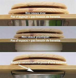 Seau Toilette Seche : seau inox 20 litres pour toilettes seches fabulous toilettes ~ Premium-room.com Idées de Décoration