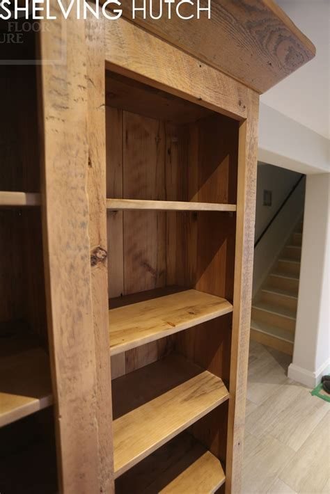 Reclaimed Wood Furniture   Shelving   HD Threshing