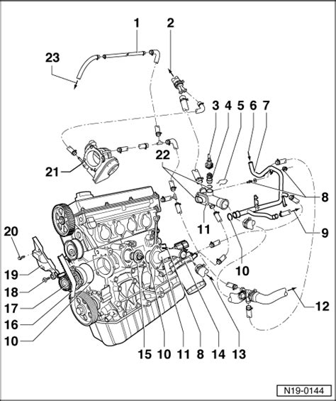 vw golf mk4 1 6 wiring diagram volkswagen workshop manuals gt golf mk4 gt engine gt 4 cylinder injection engine 1 6 l engine