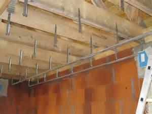 pose placo plafond avec suspente