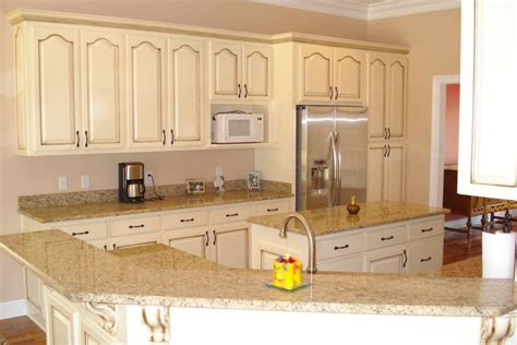 ivory painted kitchen cabinets refinishing with glaze and color kitchen cabinets 4885