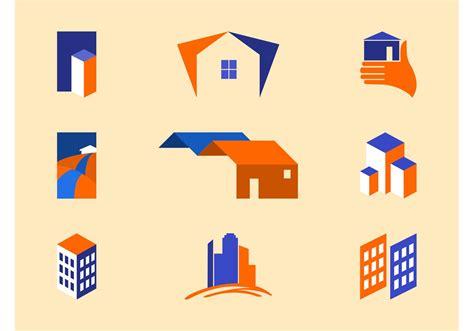 real estate logo templates   vectors