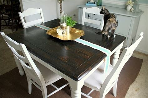 refinished table kitchen pinterest colors  ojays  dining rooms