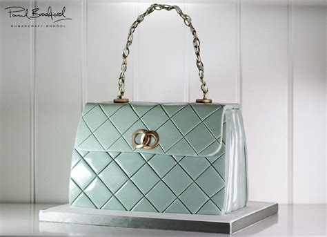 quilted designer handbag cake  cake decorating